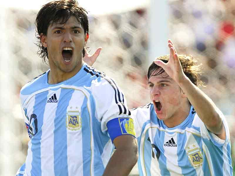 """Historias…Argentina de la mano del """"Kun"""" Agüero gana el Mundial ..."""